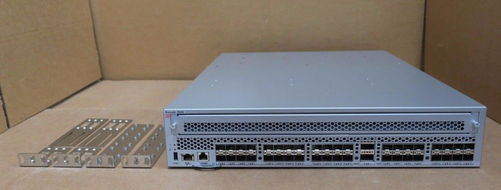 Brocade 7840 40 Port FC SAN 40GbE 10GbE Extension SFP+ Switch BR-7840-B-0001